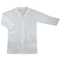 Халат школьный для уроков химии, рост 158-164, бязь, ТС, белый